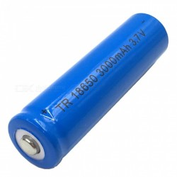 3.7 V Li-Ion 3000mAh Rechargeable Battery