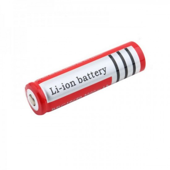 3.7V 7800mAh Rechargeable Lithium Battery  Red