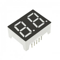 7-Segment Display 2 Digit 0.5 inch Common Anode