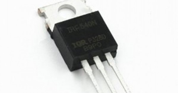 paquet de 10 pi/èces BOJACK IRF540 MOSFET Transistors IRF540N 33 A 100 V MOSFET de puissance /à canal N TO-220AB