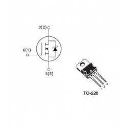 IRF630 N-Channel Power MOSFET 200V 9A