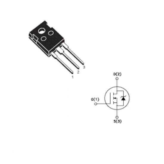 IRF830 N-Channel Power MOSFET 500V 4.5A