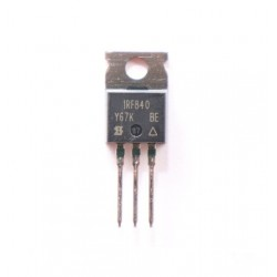IRF840 N-Channel Power MOSFET 500V 8A