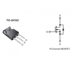 IRFP450 N-Channel Power MOSFET 500V 14A