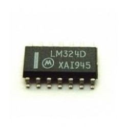 LM324D Quad Op Amps - SMD