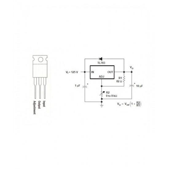 TL783C High Voltage Adjustable Regulator