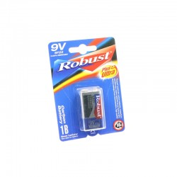 Battery 9V Robust - Carbon