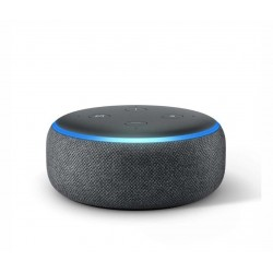Amazon Echo Dot (3rd Gen) - Smart speaker with Alexa - Charcoal Fabric