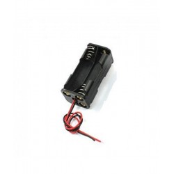 1.5V - 4 Triple A Battery Holder With Wires