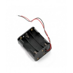 1.5V - 6AA Triple Battery Holder With Wires