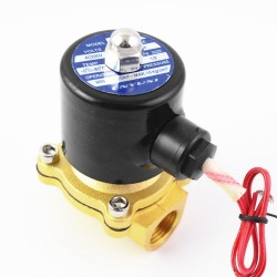 2 Way 2 Position Solenoid Valve  AC220V 1/2 inch Normally Closed DN15 2W-160-15