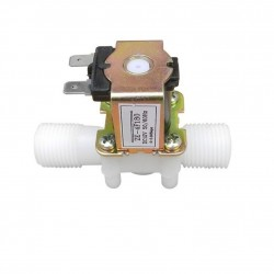 2 Way 2 Position Solenoid Valve DC 12V 0.25 inch Normally Closed