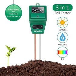 3 in 1 PH Tester Soil Water Moisture Light Analized