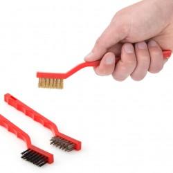 3-Piece Mini Wire Brush Set