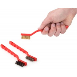3-Piece Mini Wire Brush Set