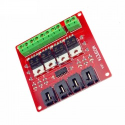 4 Channel Way Route MOSFET Button IRF540 V4.0+ MOSFET Switch Module - HY-540