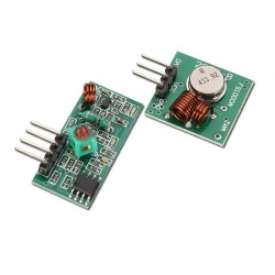 RF Wireless Tx & Rx Module 433Mhz