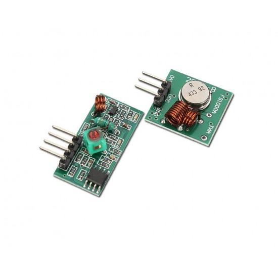RF Wireless Tx & Rx Module 433Mhz