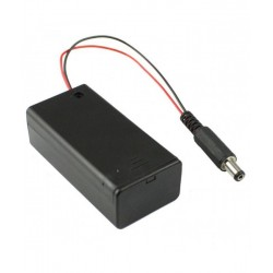 9V Battery Holder with ON/OFF Switch
