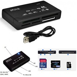 All in One USB 2.0 Card Reader/Writer