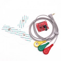 ECG Module AD8232 Measurement Pulse Heart