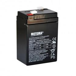 Battery 6V 4AH Sealed Lead Acid