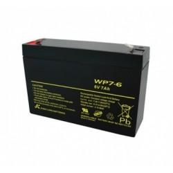 Battery 6V 7AH Sealed Lead Acid