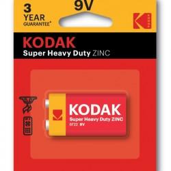 Battery 9V Kodak - ZINC