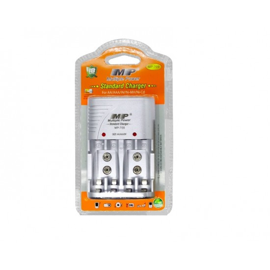 Battery Charger for AA/AAA/9V/Ni-MH/Ni-Cd Multi-function