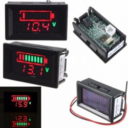 Battery Voltage Meter with range DC 6-120V
