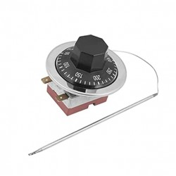 Capillary Thermostat Adjustable Temperature Control 50-300C 250V 16A
