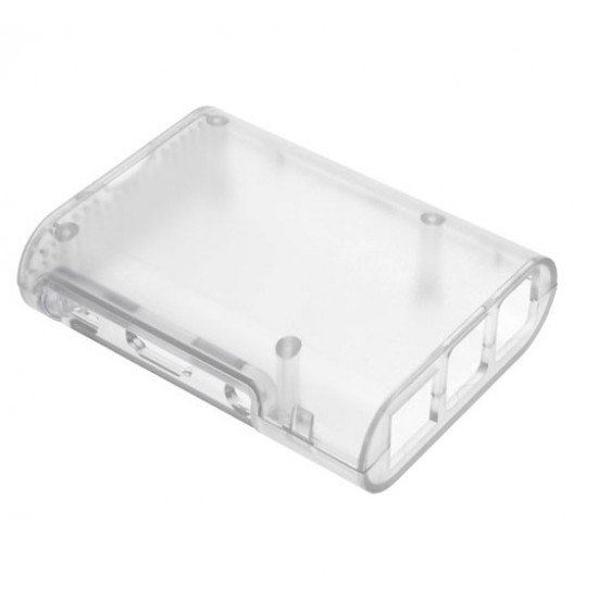 Clear Case Raspberry Model B+