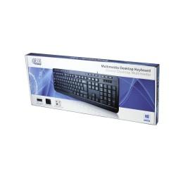 Desktop USB Keyboard Multimedia
