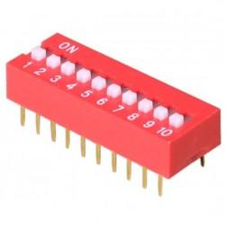 DIP Slide Switch 10 PIN