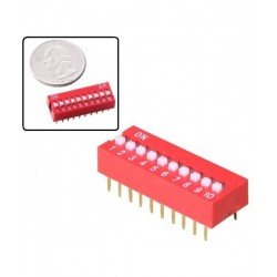 DIP Slide Switch 10 PIN