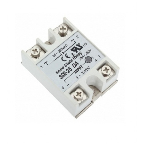 Solid State Relay SSR - 25A 380VAC Control Voltage