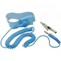 Anti-Static ESD Safe Discharge Wrist Strap Grounding Cord with Adjustable Band