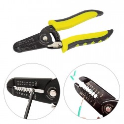 Compact Dual Wire Strippers 10-22 AWG