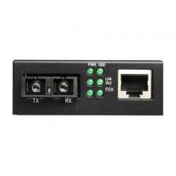Mini Media Converter Net Switch - 10/100/1000Base-TX to 1000Base-FX  (20Km)