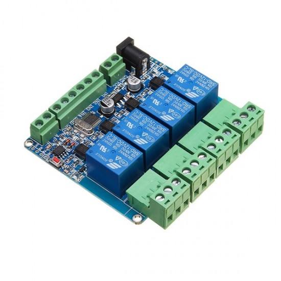 Modbus RTU 4CH 12V RS485 module