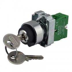 Key Switch Panel Mount 22.5mm