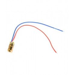 Laser Dot Diode 6mm 3V 5mW - Red Dot
