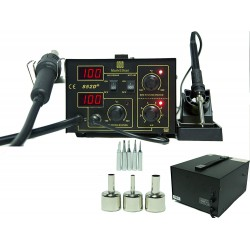 Hot Air Gun SMD Rework Soldering Station