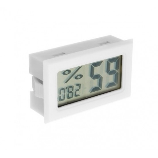 Mini Digital Thermometer and Humidity Panel Meter