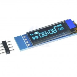 "OLED  0.69"" Blue I2C LCD Module for Arduino"
