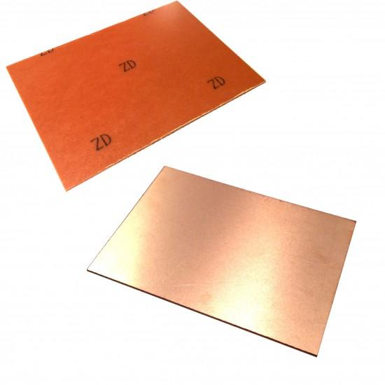 Printed Circuit Board PCB - Single Layer 30cm x 20cm Brown Plate