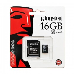 Kingston Digital 16GB microSDHC Class 10 UHS-1 Memory Card For Raspberry Pi