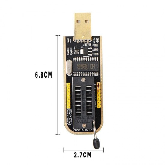 USB Programmer CH341A Series Burner Chip 24 EEPROM BIOS Writer 25 SPI FN.tq