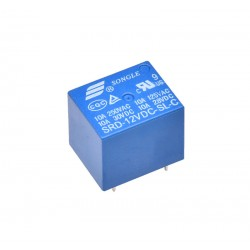 Relay 12V 10A -  5 Pin PCB
