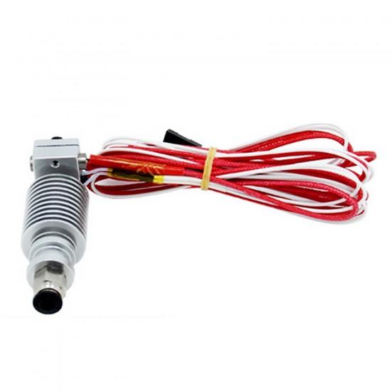 Remote E3D V6 3D Printer Head 0.2 mm Nozzle 1.75 mm Filamen